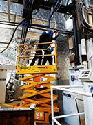 Remont instalacji sprężonego powietrza